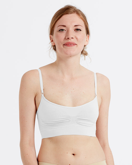 Eco-wear White Bralet