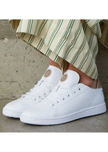 Load image into Gallery viewer, White Jane Sneakers
