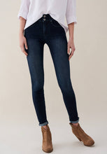 Load image into Gallery viewer, Glamour Washed Indigo Push In Jeans
