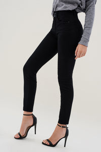Black Glamour Push In Jeans