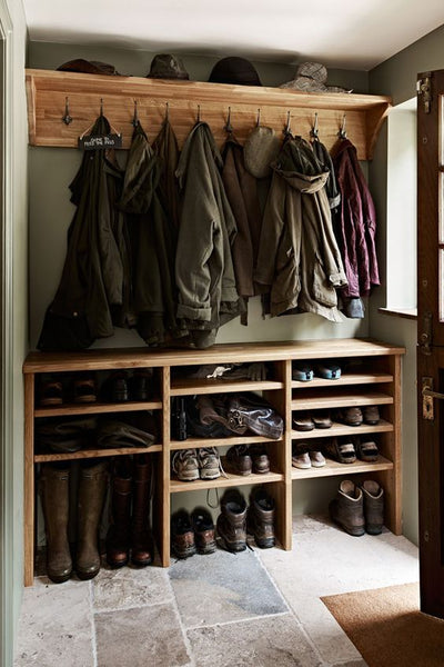 Inspiration for designing a Boot Room