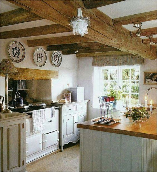 Ideas for creating a farmhouse kitchen