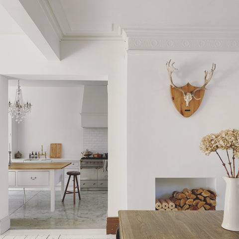 contemporary french theme open plan house