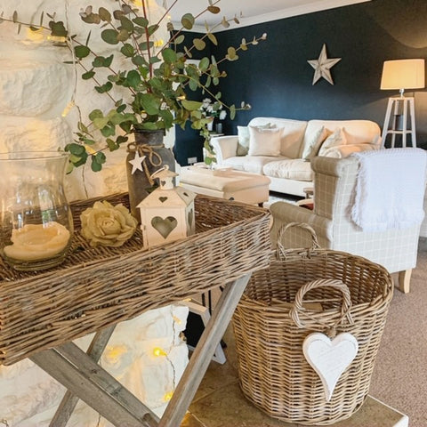 wicker home accessories