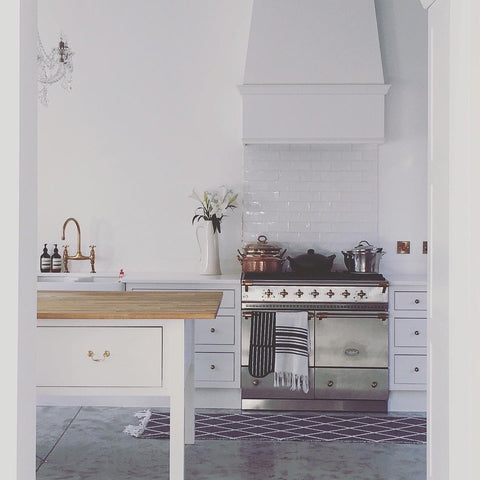 french theme kitchen and oven