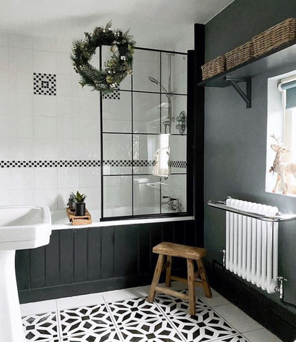 bathroom decor contemporary traditional