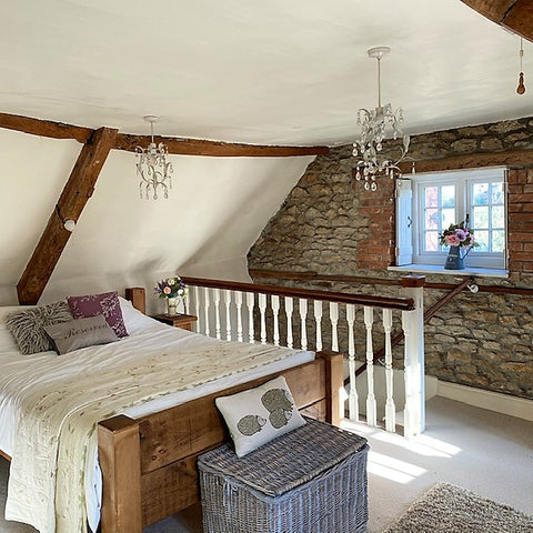 charming country cottage bedroom