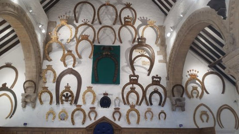 horseshoe tradition at Oakham Castle