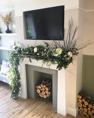 flowers and panelling