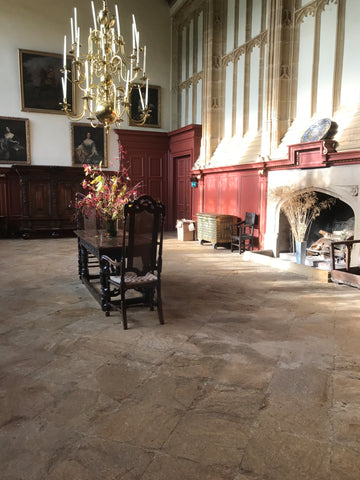 Inside Forde Abbey