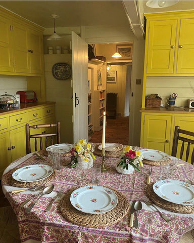 yellow country kitchen inspiration