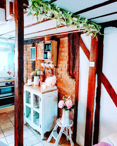 quirky cottage interior