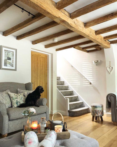 homely cottage interior