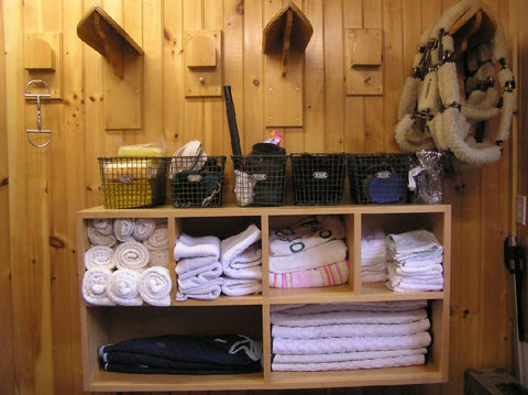 Tack Room Storage Ideas