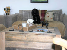 Load image into Gallery viewer, Extra Large Handmade Rustic Wood Coffee Table Trunk Chest Storage