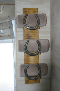 Image of Bathroom Towel Storage Holder