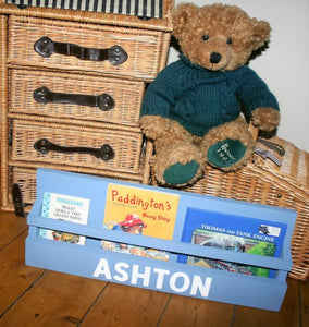 Image showing traditional child's book display shelf stand