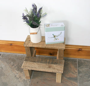 Wood step-stool