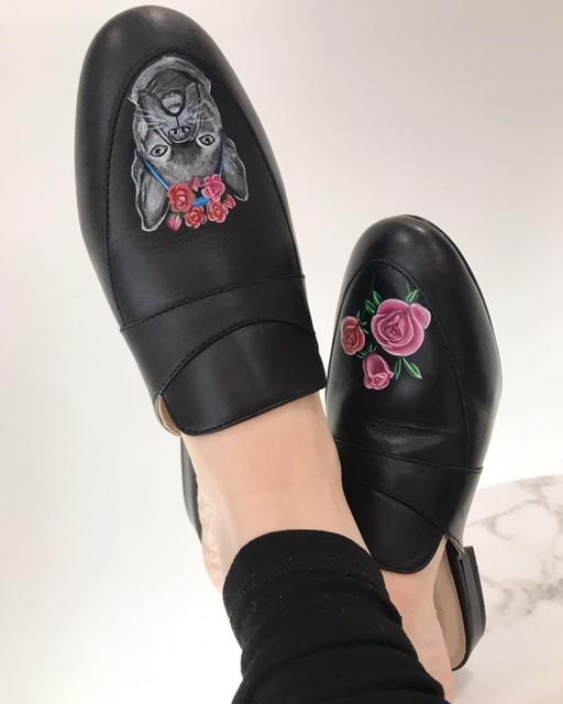 Frida Frenchie Mule