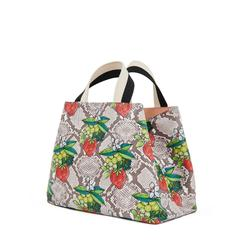 Bateau Tote - Strawberry Snake