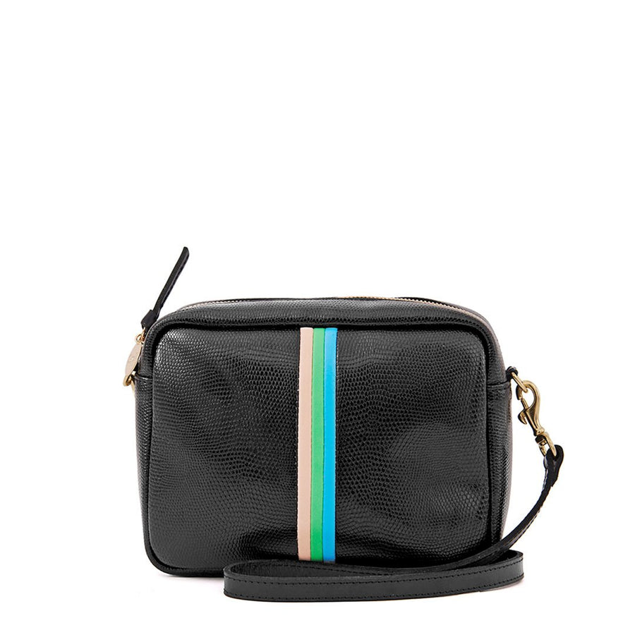 Midi Sac - Black Lizard Stripe