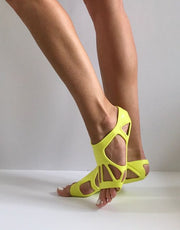 Element 14 Yellow - Barre, Pilates and Yoga Shoe
