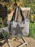 Diamond Star Bag - Grey