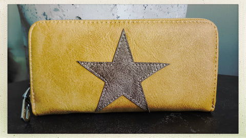 Star Wallet - Yellow