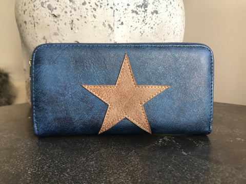Star Wallet - Midnight Blue
