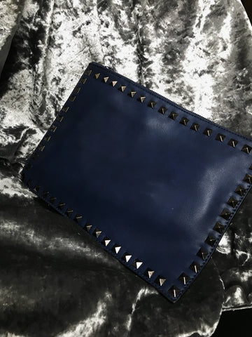 Stud Bag - Midnight Blue