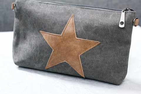 Small Star Bag - Vintage Grey