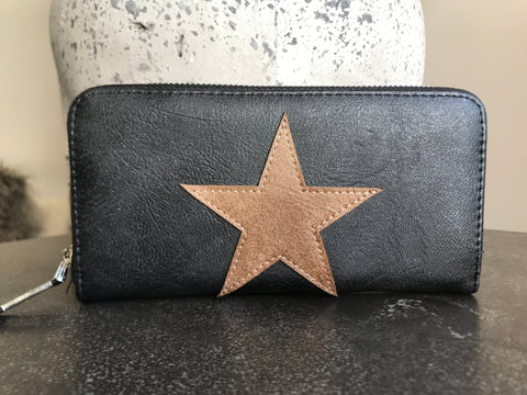 Star Wallet - Black