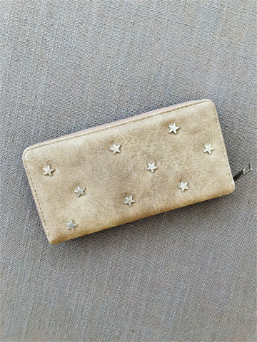 """Sarah"" Scatter Star Wallet - bronze"