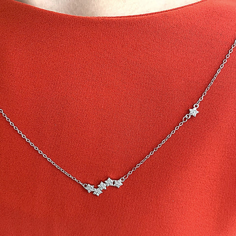 Star Split Necklace