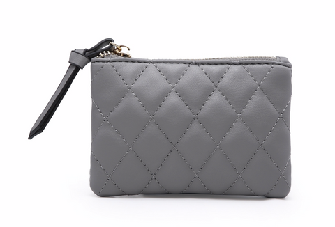 Glimmer Coin Purse - Matte Grey