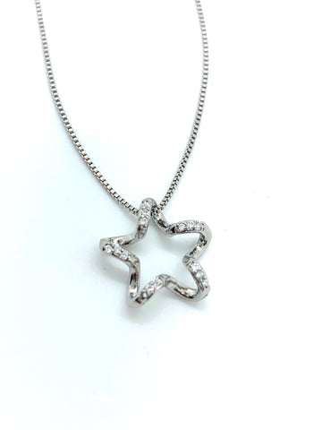Sparkle Star Necklace