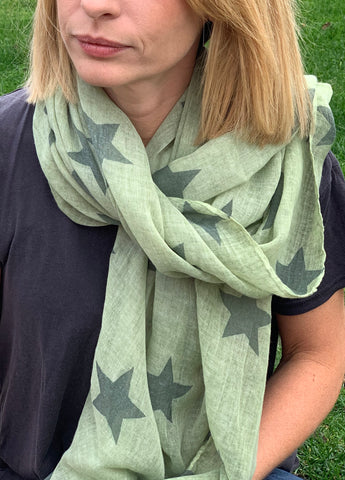 Holly Scarf - Green
