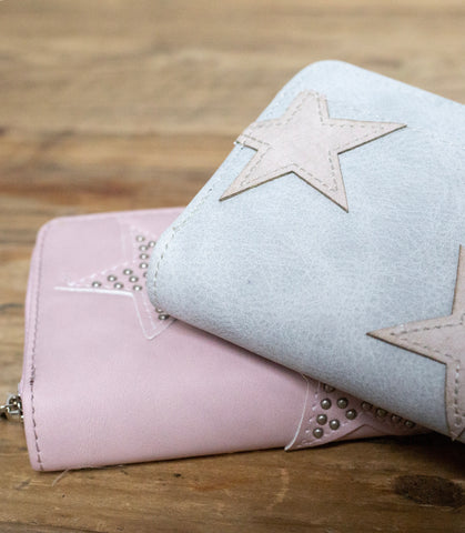 Stud Star Wallet - Pink