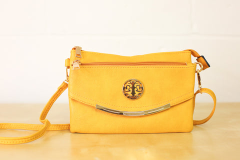 Alanah Multi-Way Bag - Ochre