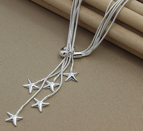 Scatter Star Necklace