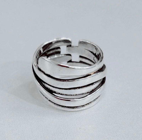 Abstract Layer Ring - Vintage