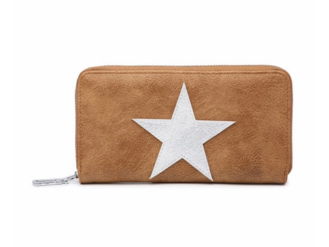 Star Wallet - Brown