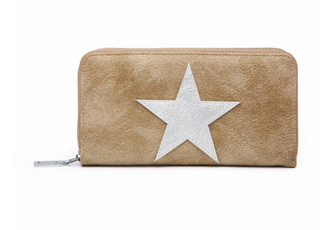 Star Wallet - Tan