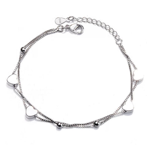 SECOND Heart String Bracelet