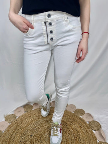 Isaac Jeans - White