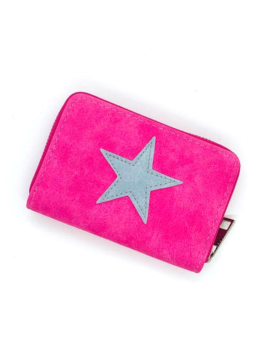 Small Star Wallet - Pink