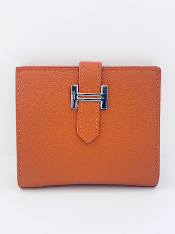 H Wallet - Burnt Orange