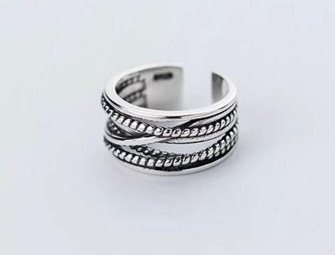 Braided Twist Ring