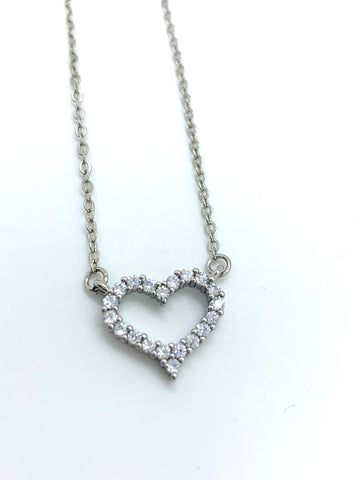 Sparkle Heart Necklace