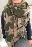 Superstar Scarf - Army Green